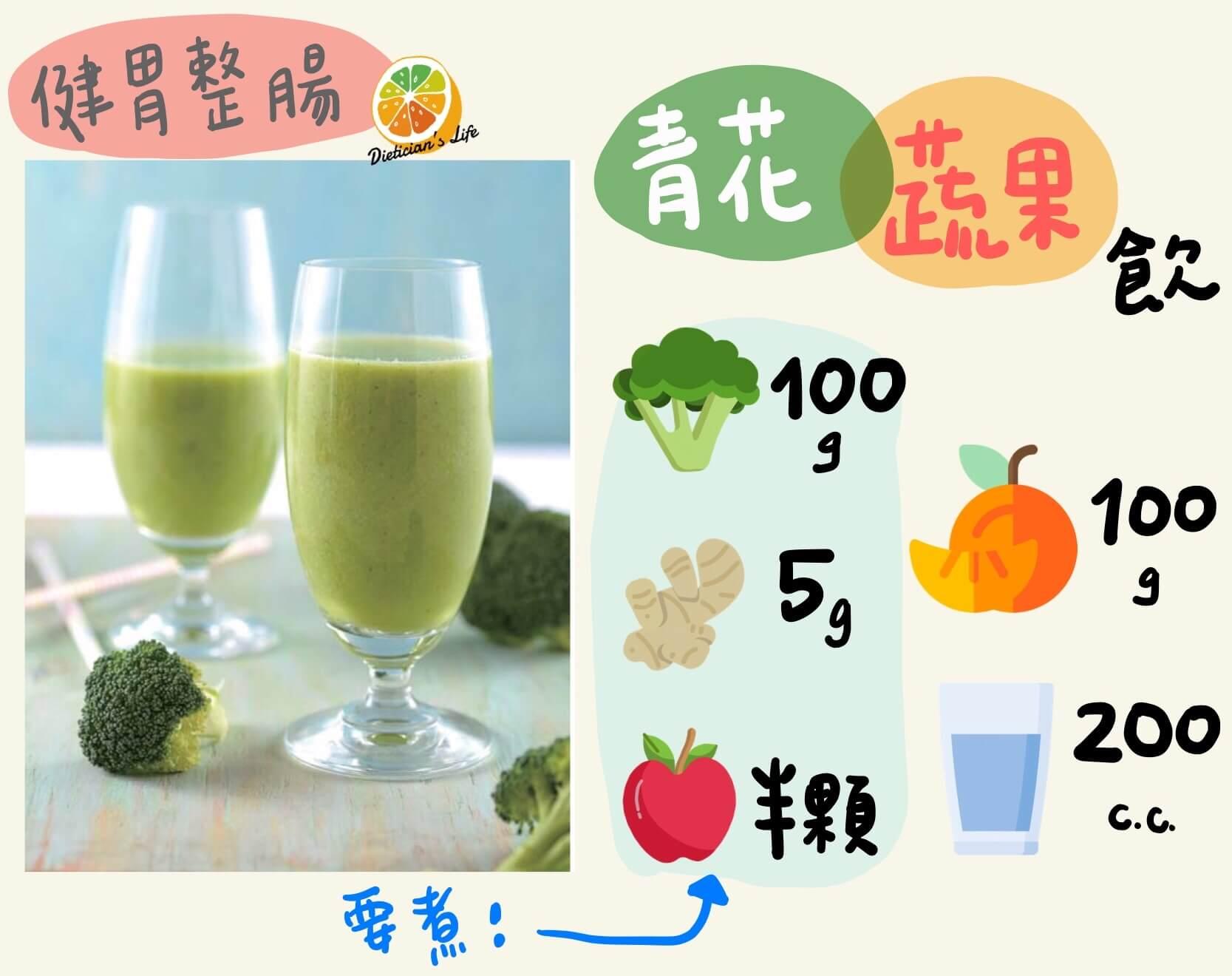 青花蔬果飲
