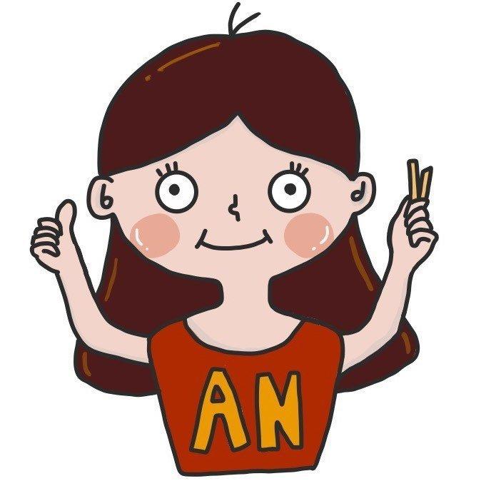薯條安|營養生活|插畫